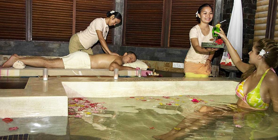 Araamu Spa en el Paradise Island Resort & Spa
