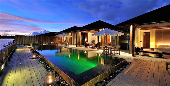 Terraza de la Ocean Suite en el Paradise Island Resort & Spa