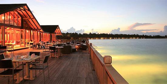 Restaurante Al Tramoto del Paradise Island Resort & Spa