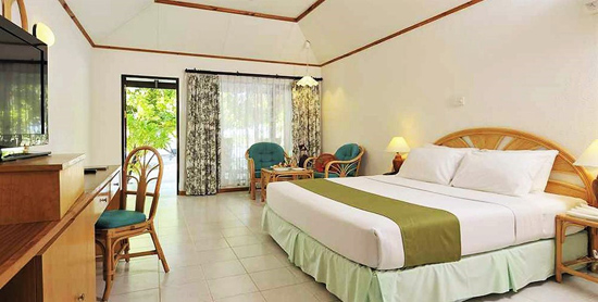 Interior de la Superior Beach Bungalow del Paradise Island Resort & Spa