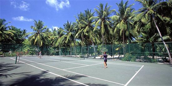 Pistas de tenis del Paradise Island Resort & Spa