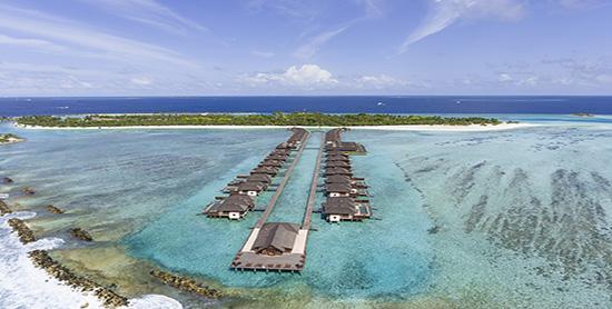Villas sobre el agua del Paradise Island Resort & Spa