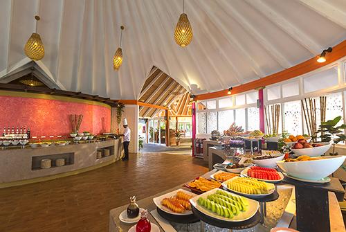 Restaurante The Aqua de Sun Aqua Vilu Reef