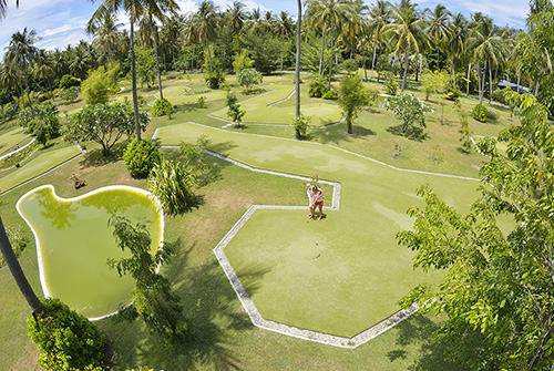Minigolf en Sun Island Resort and Spa