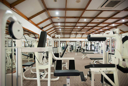 Gimnasio de Sun Island Resort and Spa