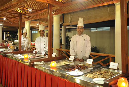 Maaniya Restaurant en Sun Island Resort & Spa