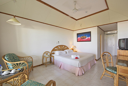 Interior de la Standard Beach Bungalow de Sun Island Resort & Spa