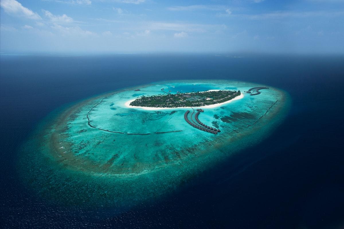Vista aérea de Sun Siyam Iru Fushi