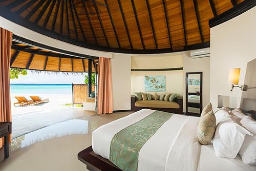 Deluxe Beach Villa en Sun Siyam Iru Fushi