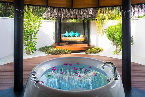 Baño de Beach Villa