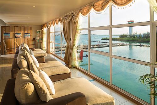 Lounge de Sun Siyam Iru Fushi