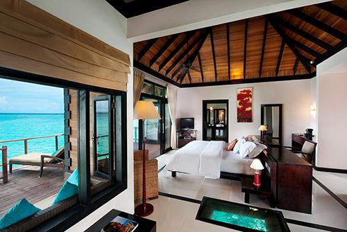 Water Villa en Sun Siyam Iru Fushi