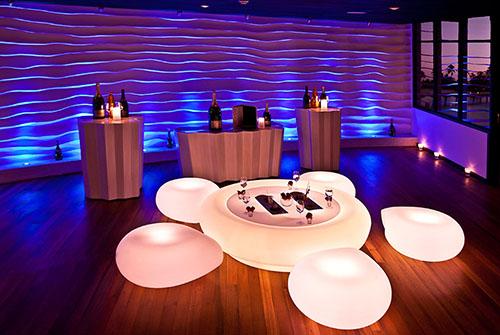 Bubble Lounge en Sun Siyam Iru Fushi
