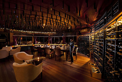 Wine Cellar en Sun Siyam Iru Fushi