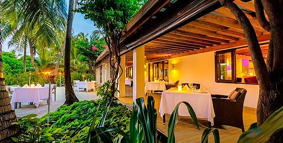 Etesian Restaurant del Velassaru Maldives