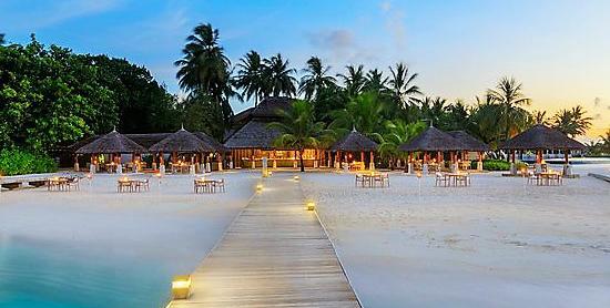 Sand Restaurant del Velassaru Maldives