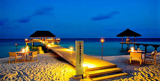 Teppanyaki Restaurant del Velassaru Maldives