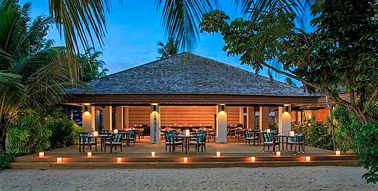 Turqoise Restaurant del Velassaru Maldives