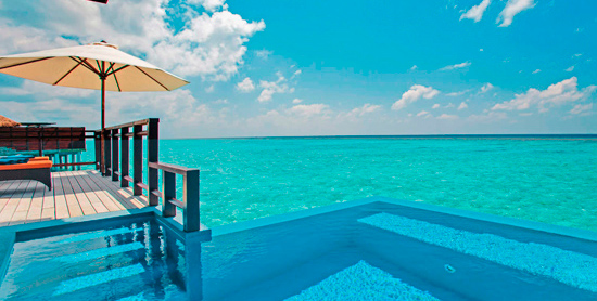 Water Villa with Pool en Valassaru Maldives