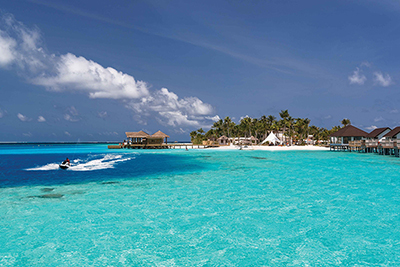 Lujo en los resorts de Maldivas
