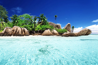 Playa Anse Source D'Argent, La Digue