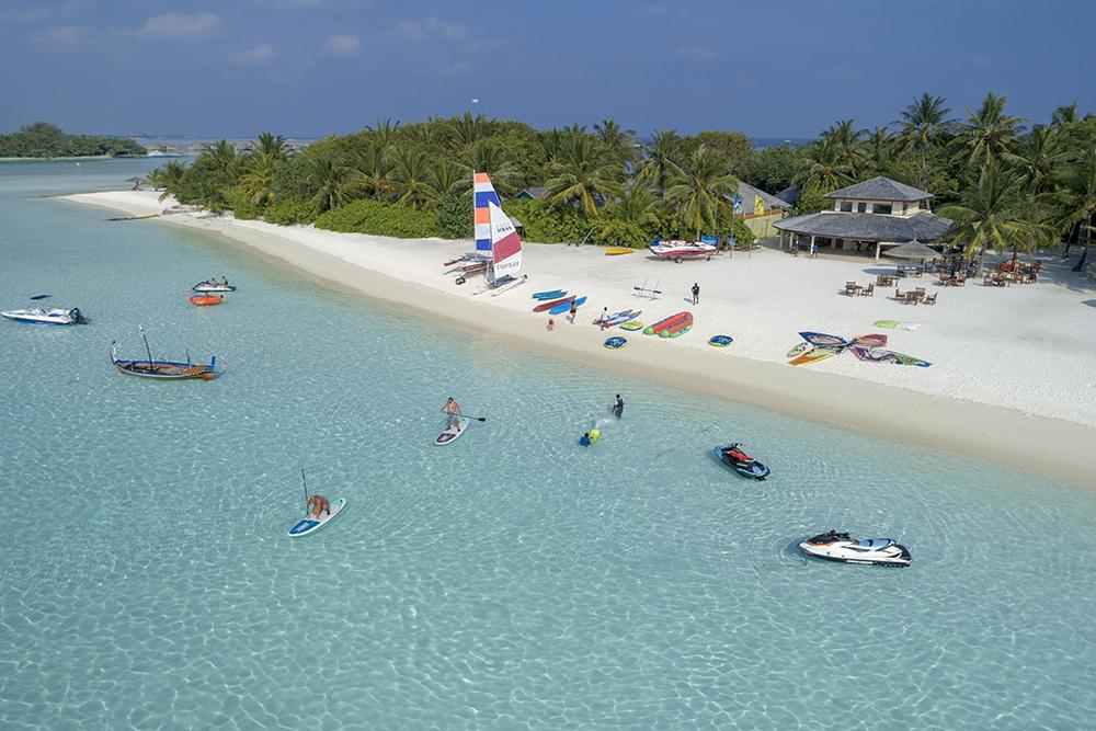 Actividades acuáticas en Maldivas