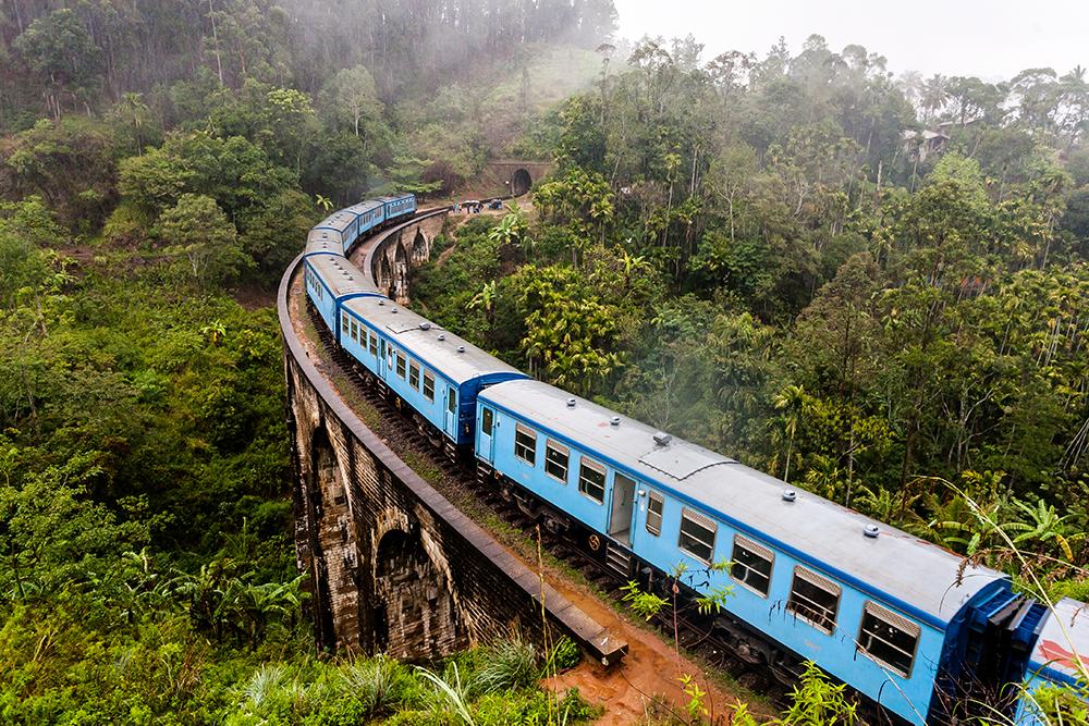 Trenes de Sri Lanka