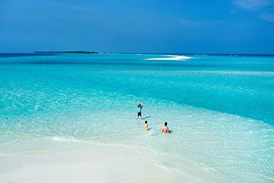 Aguas azul turquesa